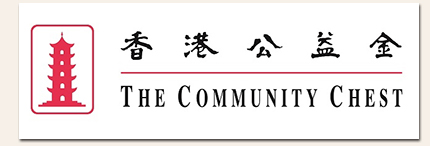 Community chest logo with shadow
